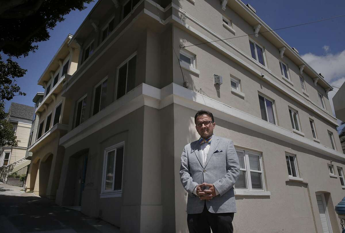 San Francisco Supervisor David Campos says this property on Dolores Street was illegally converted into a tourist hotel. Campos along with Aaron Peskin want to toughen San Francisco's vacation-rental laws to make platforms like Airbnb and HomeAway more responsible for enforcing the law.