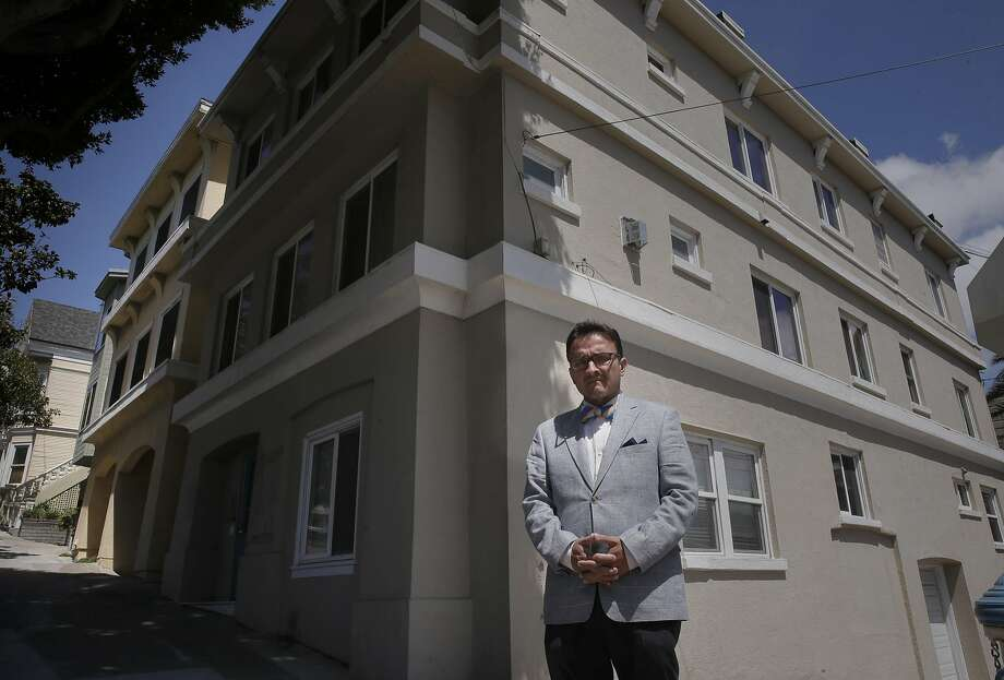 San Francisco Supervisor David Campos says this property on Dolores Street was illegally converted into a tourist hotel. Campos along with Aaron Peskin want to toughen San Francisco's vacation-rental laws to make platforms like Airbnb and HomeAway more responsible for enforcing the law. Photo: Michael Macor, The Chronicle