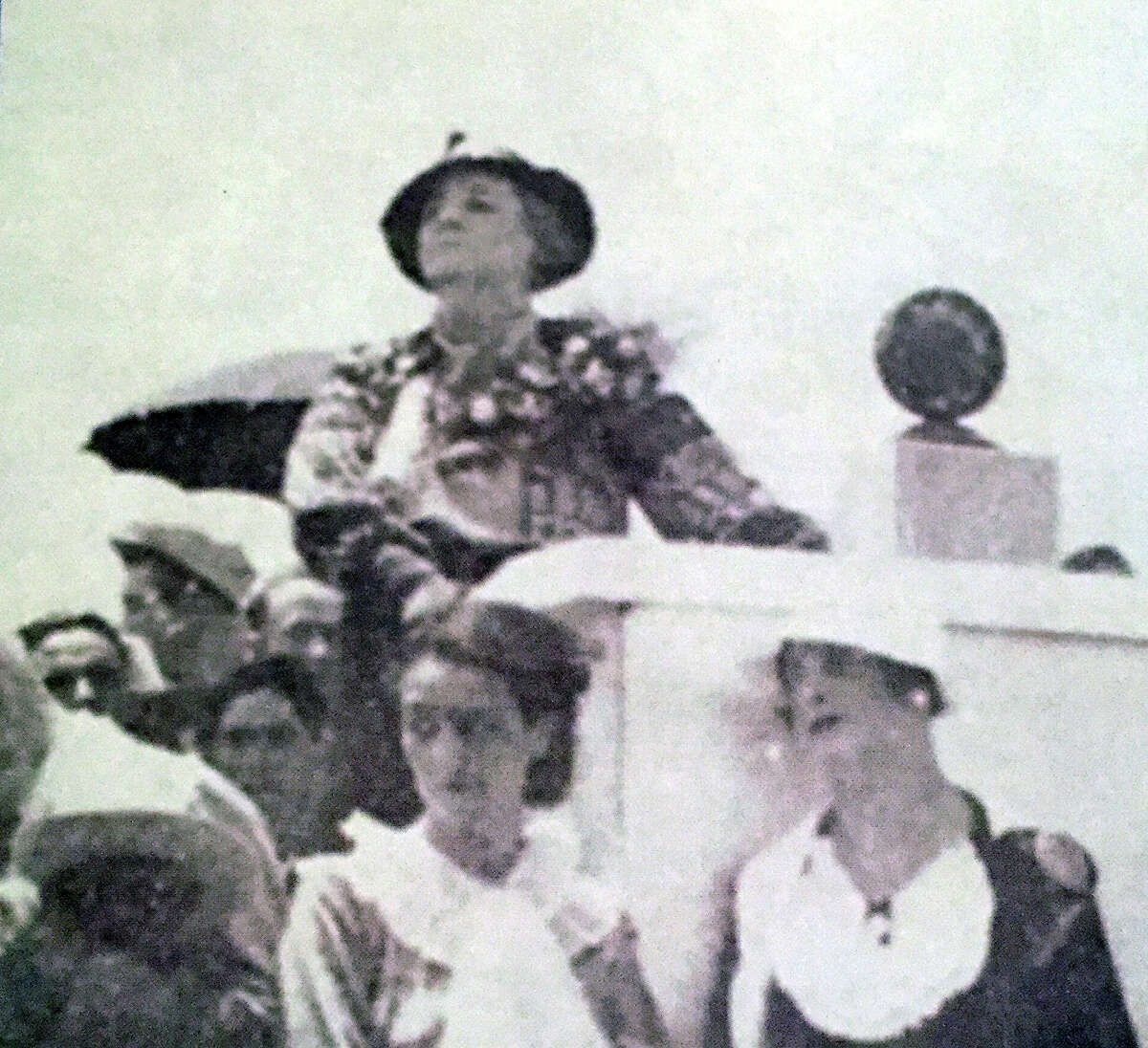 Florence Terry Griswold, founder of the Pan American Round Table, a women's club that promoted study and understanding of Latin American nations.