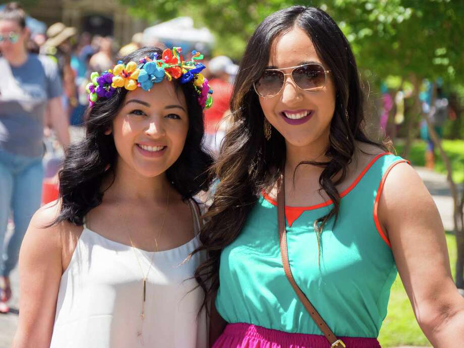 About 40,000 showed up for one of the final, and most anticipated, neighborhood events in Fiesta, the King William Fair, Saturday April 23, 2016. Photo: By Ryan Ibarra, For MySA.com