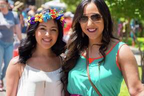 About 40,000 showed up for one of the final, and most anticipated, neighborhood events in Fiesta, the King William Fair, Saturday April 23, 2016.