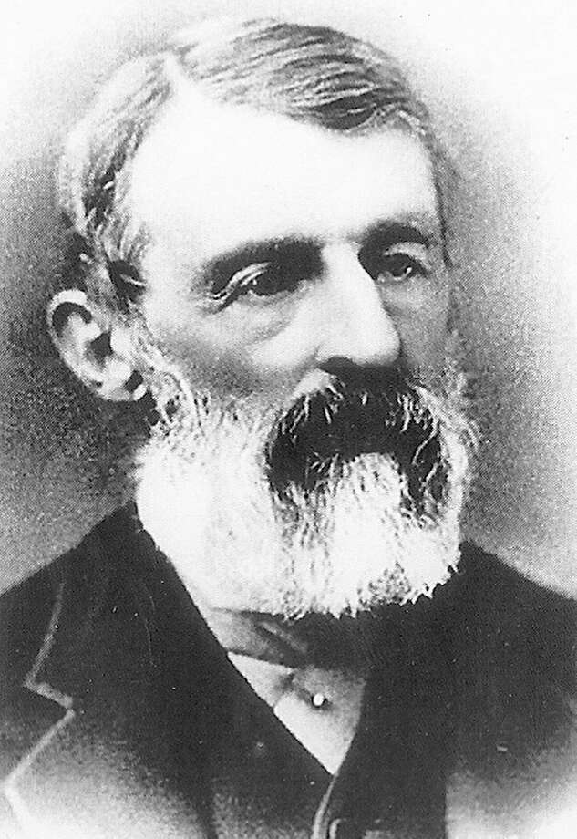 "Daniel Lucius ""Doc"" Adams in a circa 1870 photograph. Photo: Associated Press"