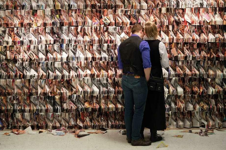 Sensual art is displayed. Photo: GRANT HINDSLEY, SEATTLEPI.COM / SEATTLEPI.COM