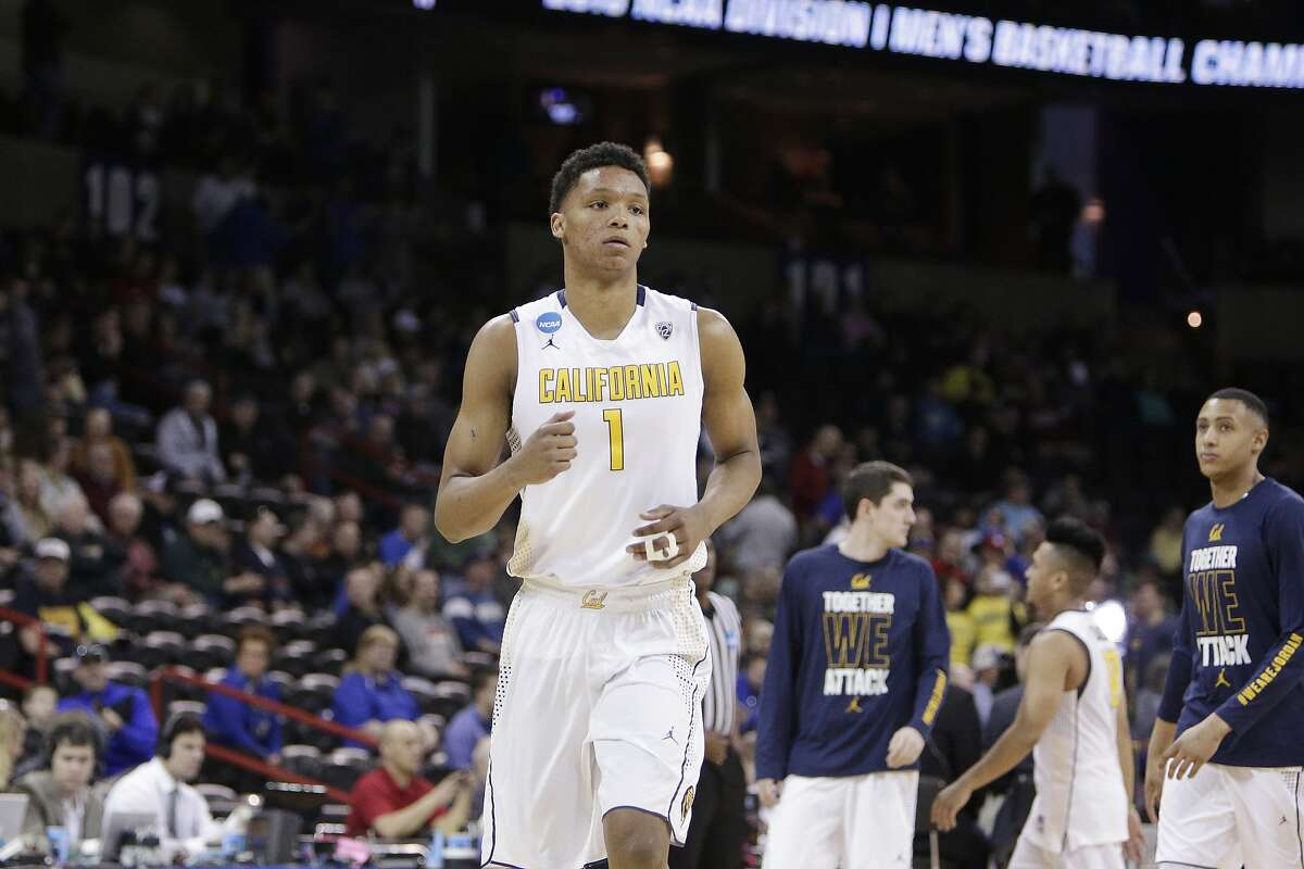 California forward Ivan Rabb (1) walks on the court before a first-round men's college basketball game against Hawaii in the NCAA Tournament in Spokane, Wash., Friday, March 18, 2016.