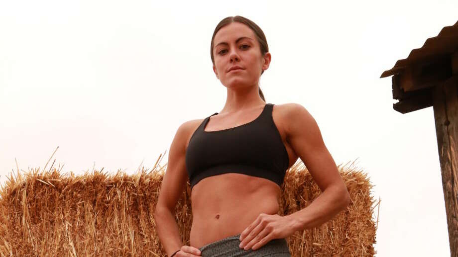 Kacy Catanzaro of San Antonio can be seen on tonight's Steve Austin strength and endurance show on CMT.  Photo: Photo: CMT