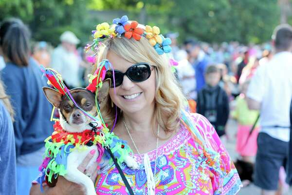 There was more than dogs to see at the Alamo Heights Dog Parade Saturday, April 23, 2016.