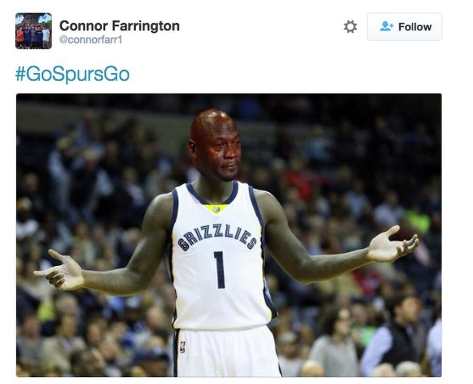 fans react to Spurs' sweep Photo: Twitter