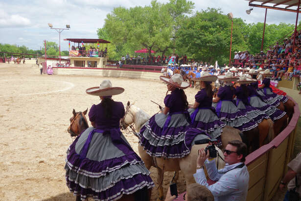 One of Fiesta's final events, A Day in Old Mexico & Charreada, delighted crowds Sunday, April 24, 2016, on the city's South Side.