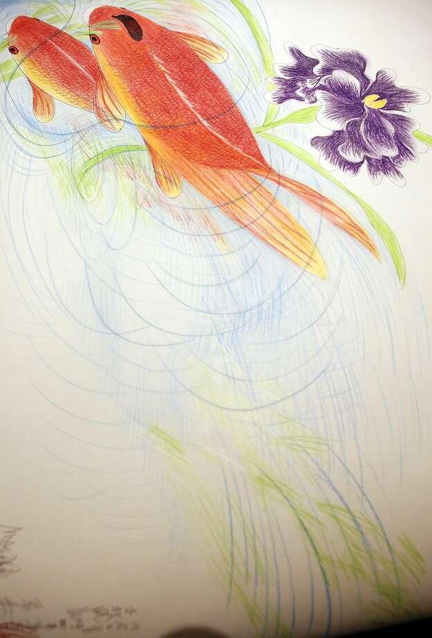 Art by Jimmy Tsutomu Mirikitani. Photo: Kathleen Duncan