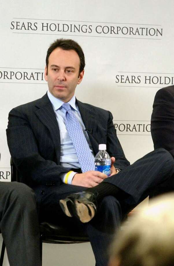 Hedge fund manager Eddie Lampert, chairman of Sears Holdings Corporation, is loaning himself money.  His Greenwich-based ESL Investments bought $150 million in short-term debt called commercial paper from Sears last month. (PRNewsFoto) Photo: File Photo / Greenwich Time File Photo