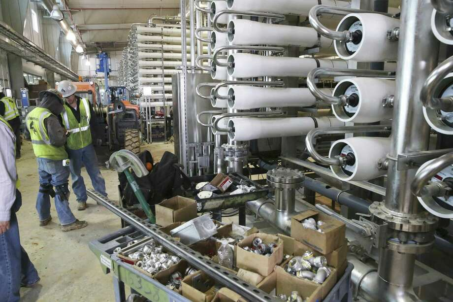 SAWS offers look inside desalination plant to treat salty ...