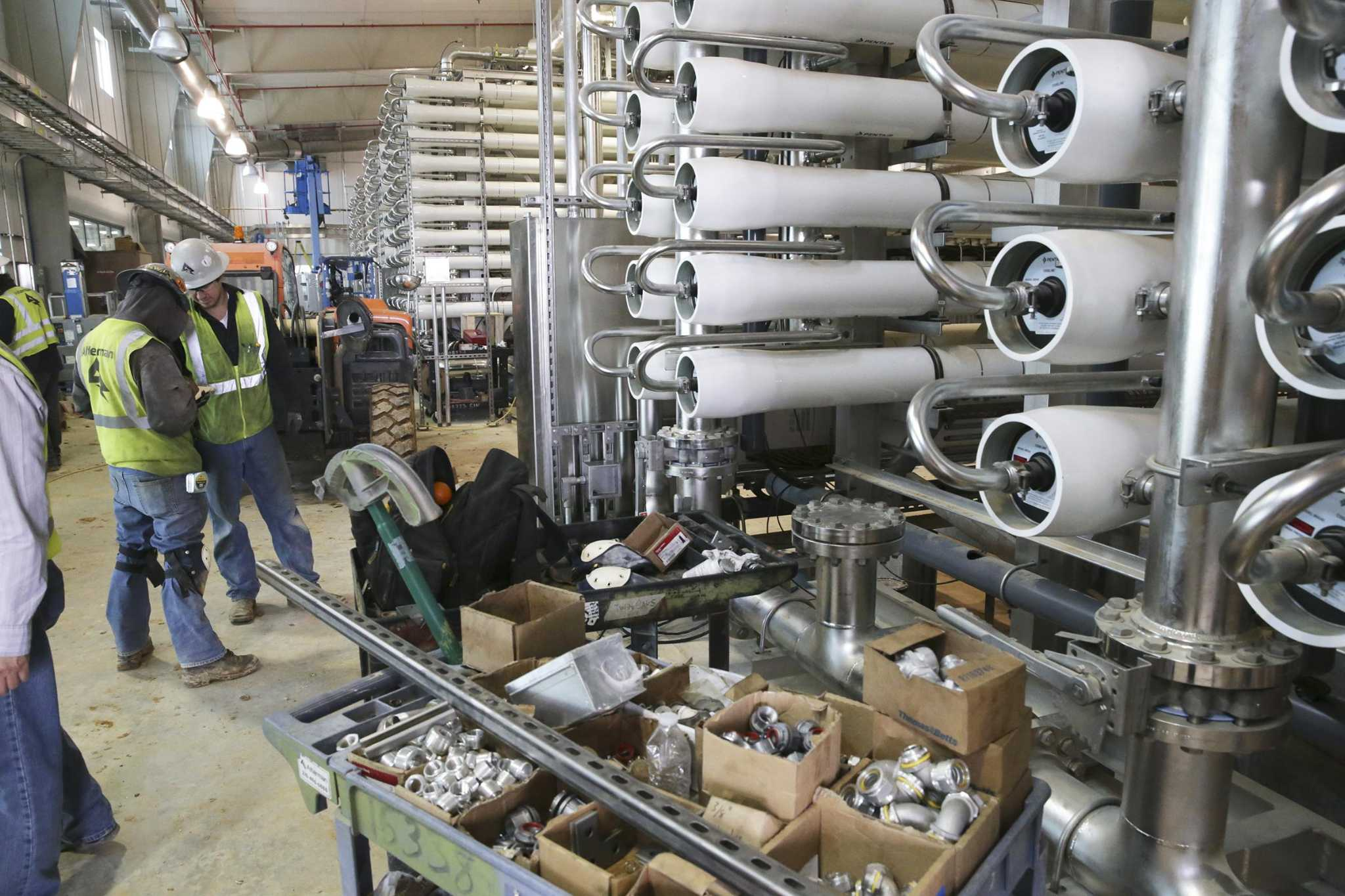 SAWS offers look inside desalination plant to treat salty