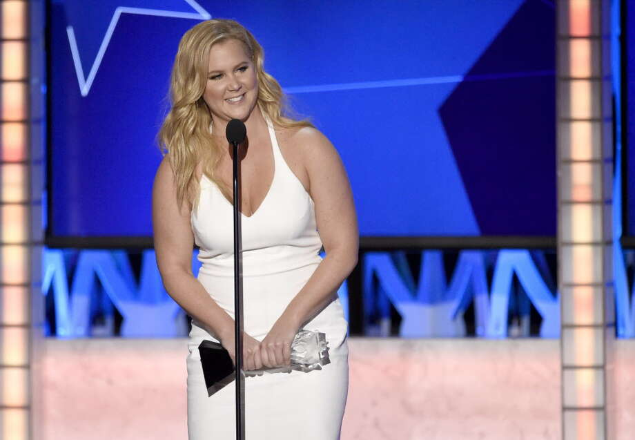 "Amy Schumer accepts the award for best actress in a comedy for ""Trainwreck"" at the 21st annual Critics' Choice Awards at the Barker Hangar in this file photo from Sunday, Jan. 17, 2016, in Santa Monica, Calif. Photo: Chris Pizzello / Invision"