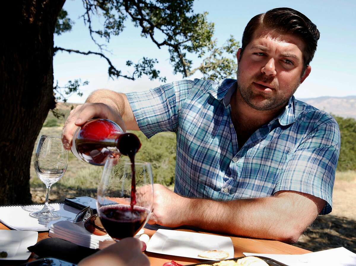 FILE-- California vintner Joe Wagner has been ordered to change seven of his wine labels.