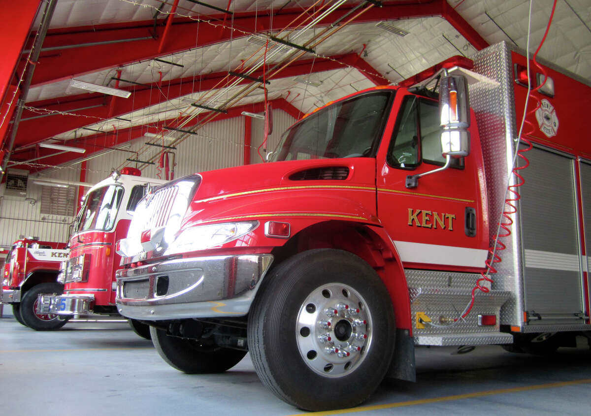 SPECTRUM/The Kent Volunteer Fire Department stands ready to help at a moment's notice. August, 2011
