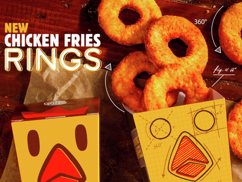 Burger King has released a bizarre new menu item called chicken fries rings that look like donuts Photo: Burger King