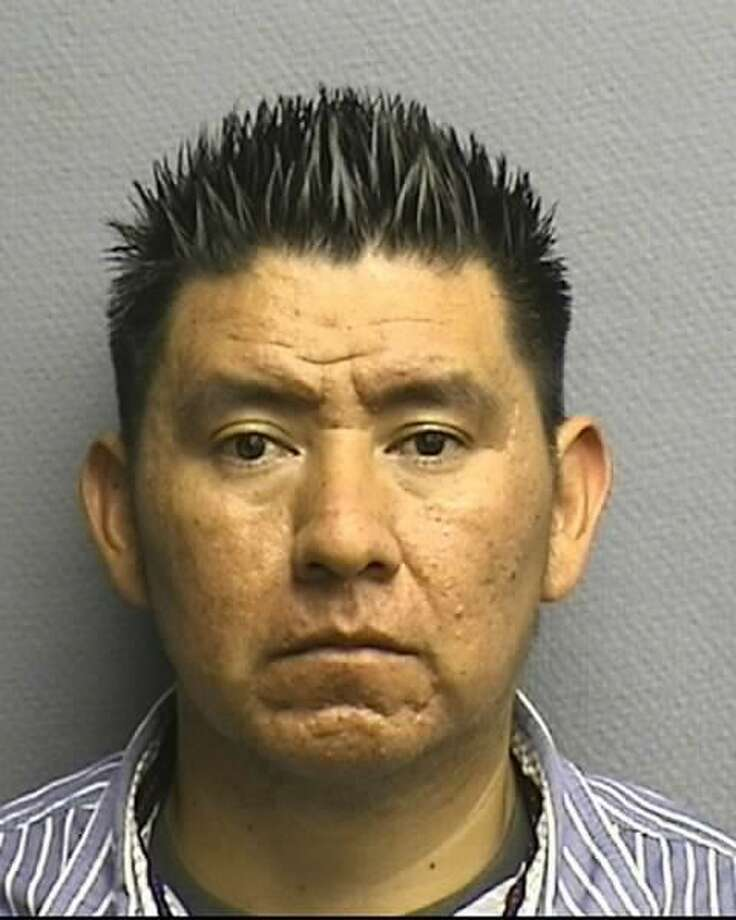Felipe DeJesus Leon, 35, is charged with failure to stop and render aid involving seriously bodily injury in connection with the incident that occurred about 11:35 a.m. April 2 at 1100 Charnwood near Irvington Boulevard, according to the Houston Police Department.(HPD)
