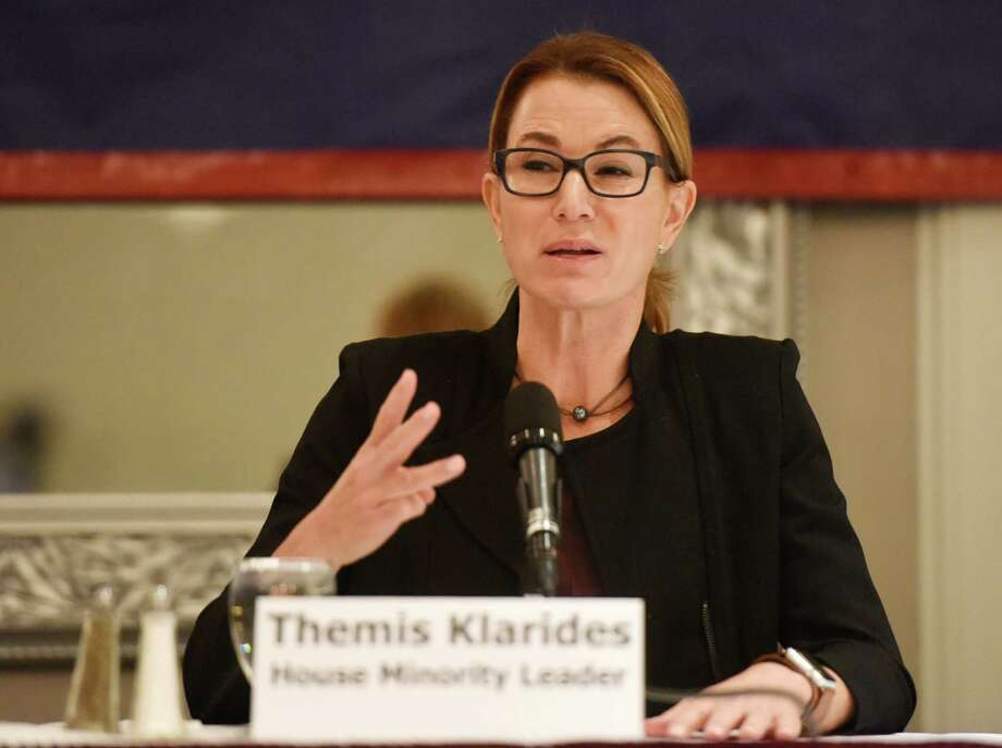 House Minority Leader Themis Klarides, R-Derby Photo: Tyler Sizemore / Hearst Connecticut Media / Greenwich Time