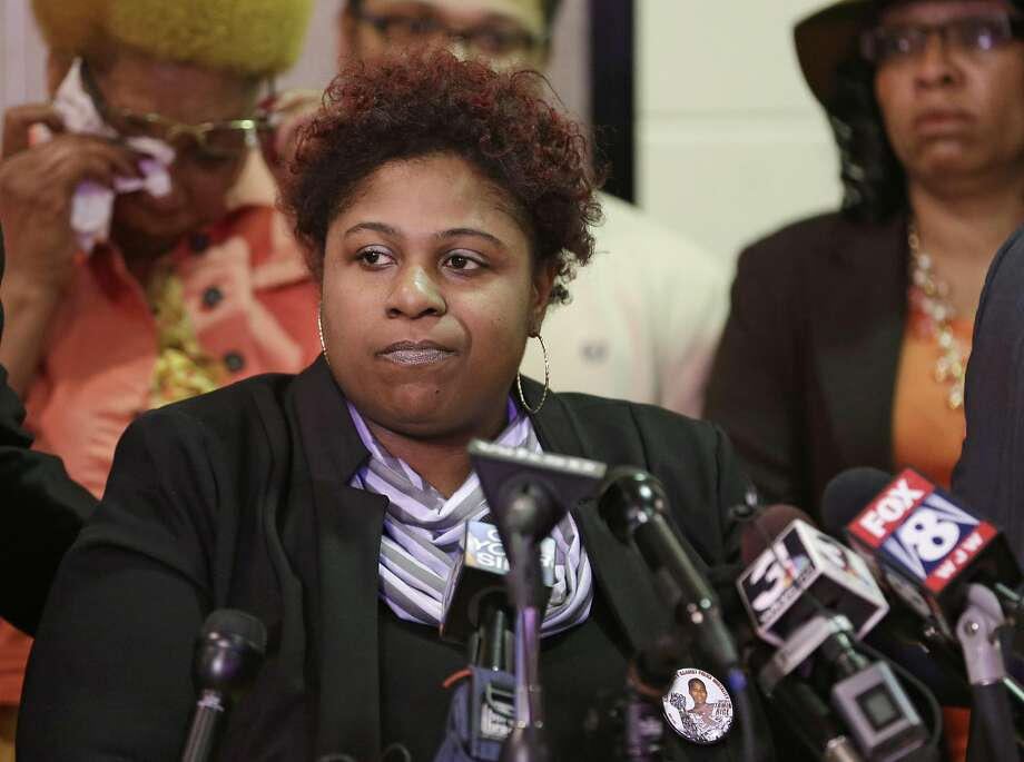 Samaria Rice is the mother of Tamir Rice, a 12-year-old who was fatally shot by an officer in 2014. The wrongful death lawsuit alleged police acted recklessly when they confronted the boy. Photo: Tony Dejak, Associated Press