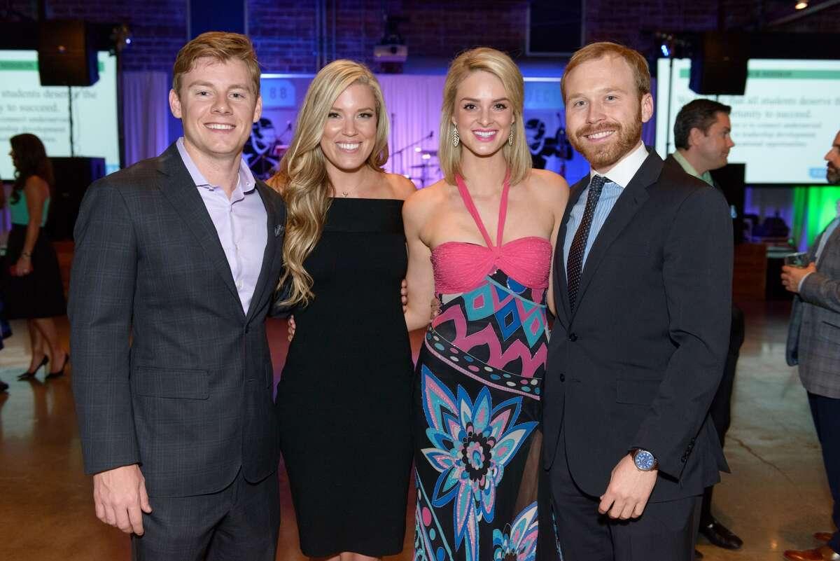 Austin and Holly Alvis with Sarahbeth Melton and Pierce Bush