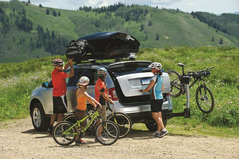 A Thule roof rack. Photo: Scott Markewitz, Contributed Photo