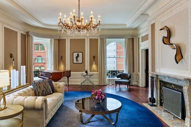 The Palace Hotel Presidential Suite Living Room