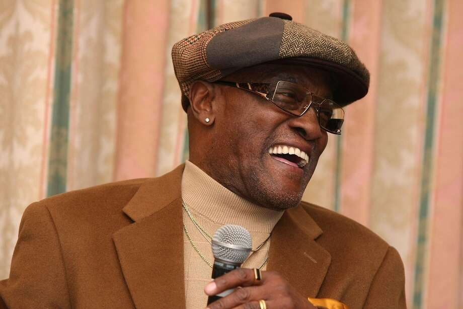 """FILE - APRIL 25, 2016: Grammy Award winning American soul singer Billy Paul, best known for his hit single """"Me and Mrs Jones"""", has died aged 81. BEVERLY HILLS, CA - FEBRUARY 06:  Billy Paul speaks at the Pre-GRAMMY Party at the Four Seasons Hotel on February 6, 2008 in Beverly Hills, California.  (Photo by Noel Vasquez/Getty Images) Photo: Noel Vasquez, Getty Images"""