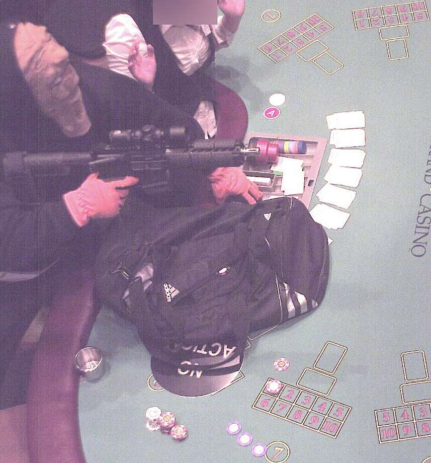 An armed assailant robbed the California Grand Casino in Pacheco early Monday morning. Photo: Contra Costa County Sheriff