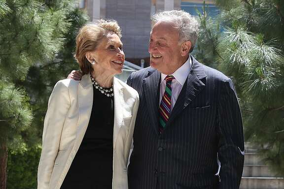 Joan and Sandy Weill are donating $185 million dollars to establish a neuroscience institute at UCSF in San Francisco, California on monday, april 25, 2016.
