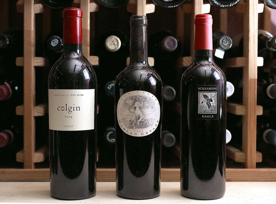 """Upscale restaurant Acquerello in S.F. carries """"cult Cabs"""" from Colgin, Harlan and Screaming Eagle. Photo: Liz Hafalia, The Chronicle"""