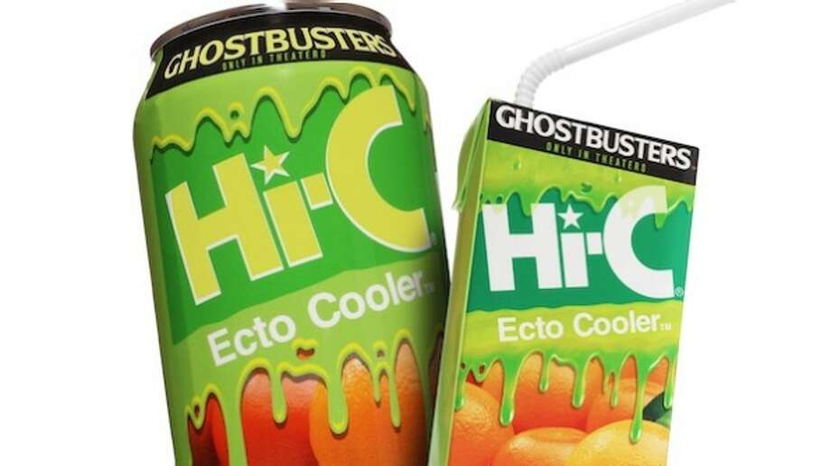 "Hi-C Ecto Cooler – which debuted in 1987 through a promotional tie-in with the blockbuster franchise ""Ghostbusters"" and TV series – will reappear May 30, 2016, ahead of the new ""Ghostbusters"" reboot set for release July 16, 2016."