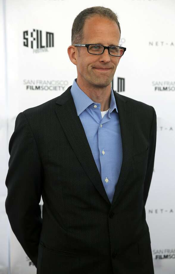 Pete Docter of Pixar poses on the red carpet. Photo: Connor Radnovich, The Chronicle