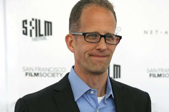Pete Docter poses on the red carpet during awards night for the San Francisco Film Festival at Herbst Pavilion in San Francisco, California, on Monday, April 25, 2016.