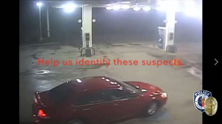 This video from the Circle K at 1609 IH-10 and Highway 46 shows an early Sunday morning organized theft, according to Seguin police. Police believe the suspects were headed toward San Antonio and may or may not be local. Photo: Seguin Police Department