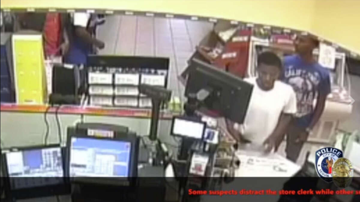This video from the Circle K at 1609 IH-10 and Highway 46 shows an early Sunday morning organized theft, according to Seguin police. Police believe the suspects were headed toward San Antonio and may or may not be local.