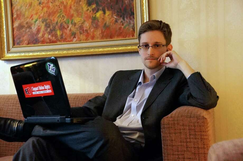 Edward Snowden Photo: Barton Gellman, Getty Images / 2013 Barton Gellman