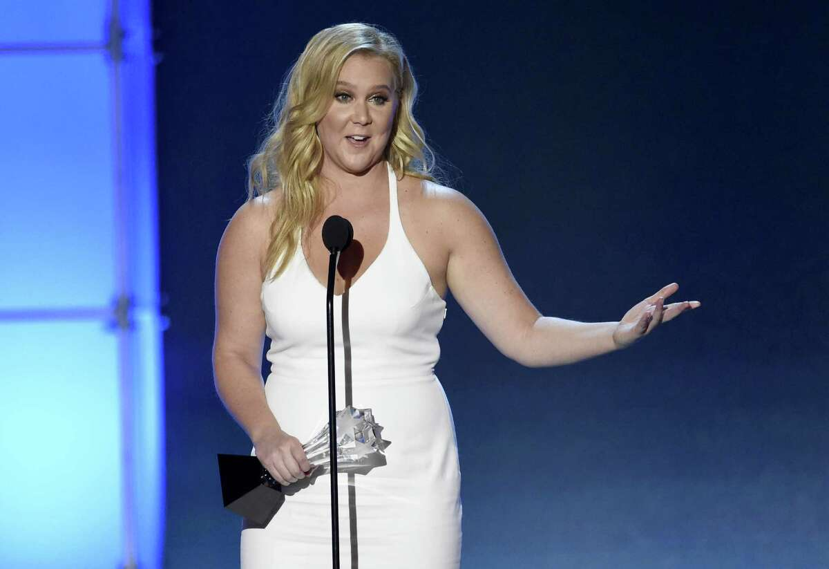 Amy Schumer accepts the Critics' Choice MVP award at the 21st annual Critics' Choice Awards at the Barker Hangar on Sunday, Jan. 17, 2016, in Santa Monica, Calif. (Photo by Chris Pizzello/Invision/AP) ORG XMIT: CACJ273 ORG XMIT: MER2016011721532284