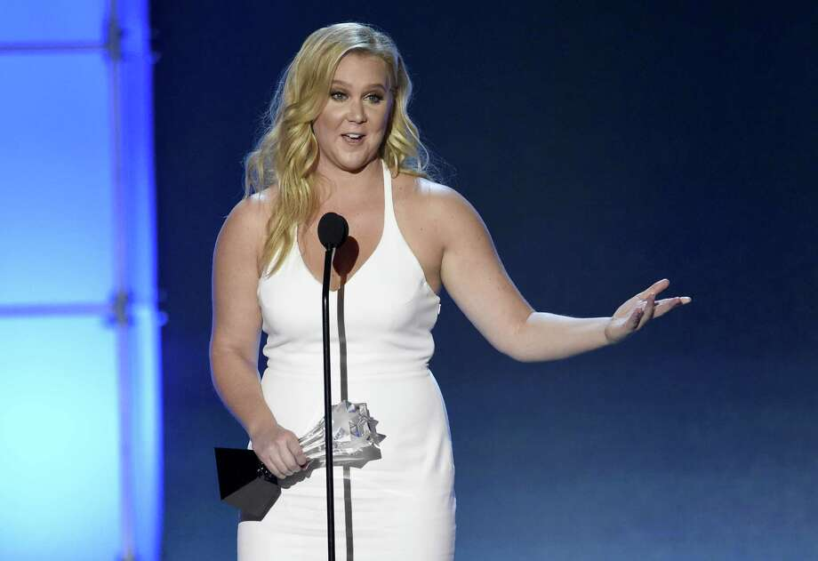 Amy Schumer accepts the Critics' Choice MVP award at the 21st annual Critics' Choice Awards at the Barker Hangar on Sunday, Jan. 17, 2016, in Santa Monica, Calif. (Photo by Chris Pizzello/Invision/AP) ORG XMIT: CACJ273 ORG XMIT: MER2016011721532284 Photo: Chris Pizzello / Invision