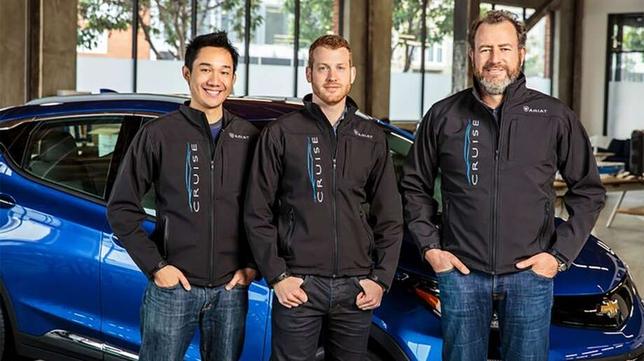40. Kyle Vogt (center), co-founder of Cruise AutomationAge: 31Based: San Francisco, CANet worth: $270 million  Photo: General Motors