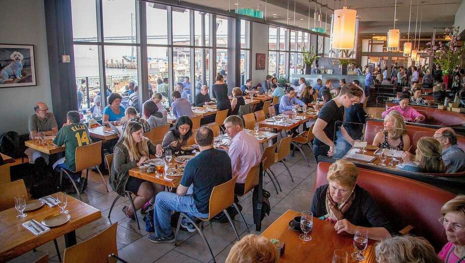 The interior of the Slanted Door in San Francisco. Photo John Storey & Slanted Door\u0027s kitchen needs to pay attention - San Francisco ...