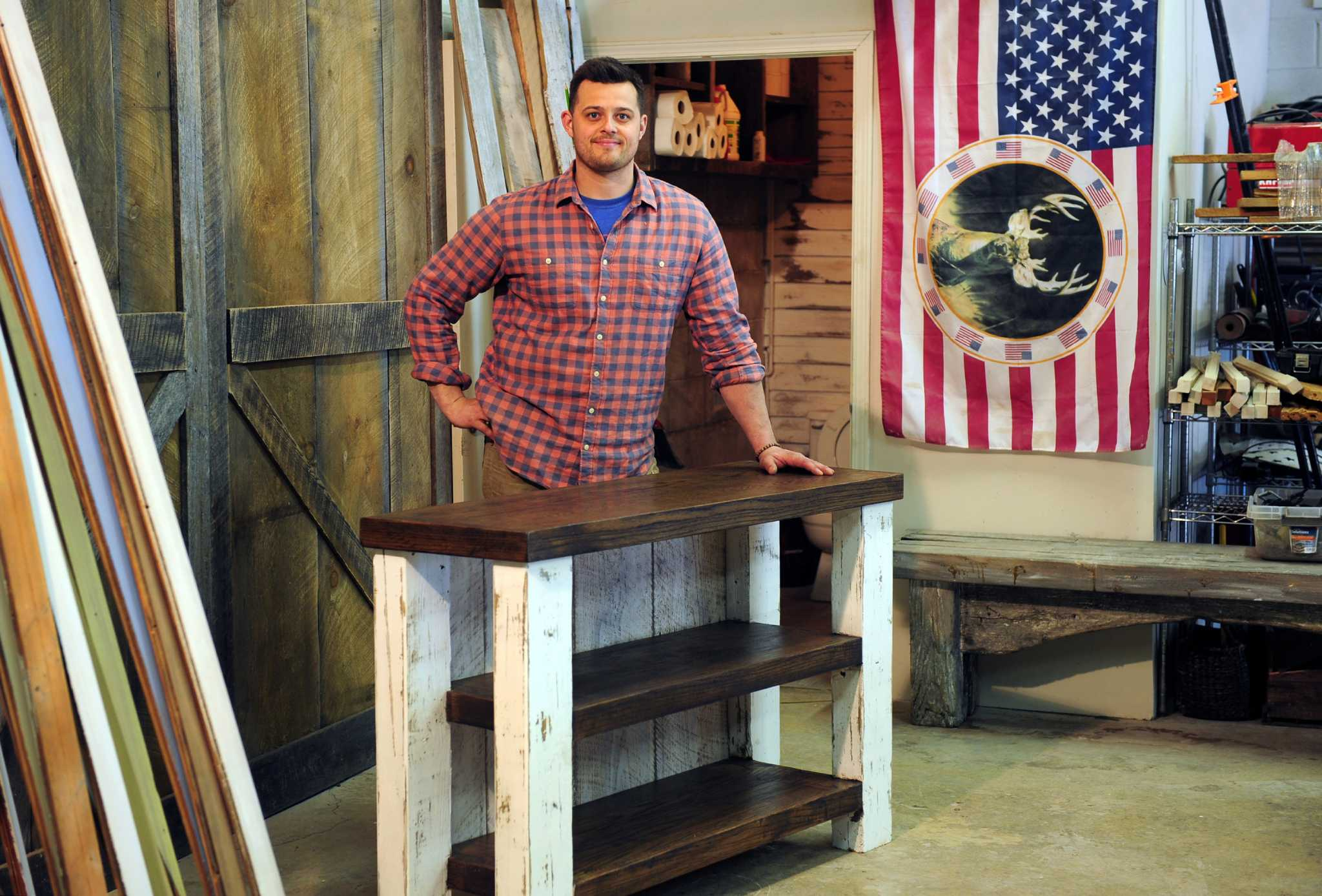 Perfect Wood And Grit Come Together For Milford Furniture Business   Connecticut  Post