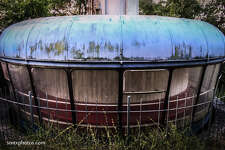 San Marcos-native Andy Heatwole photographed the abandoned Aquarena Springs theme park and resort between 2005 and 2012.