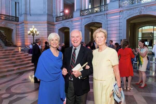 Sherry Wood, Jack Comerford, Susie Gilmartin