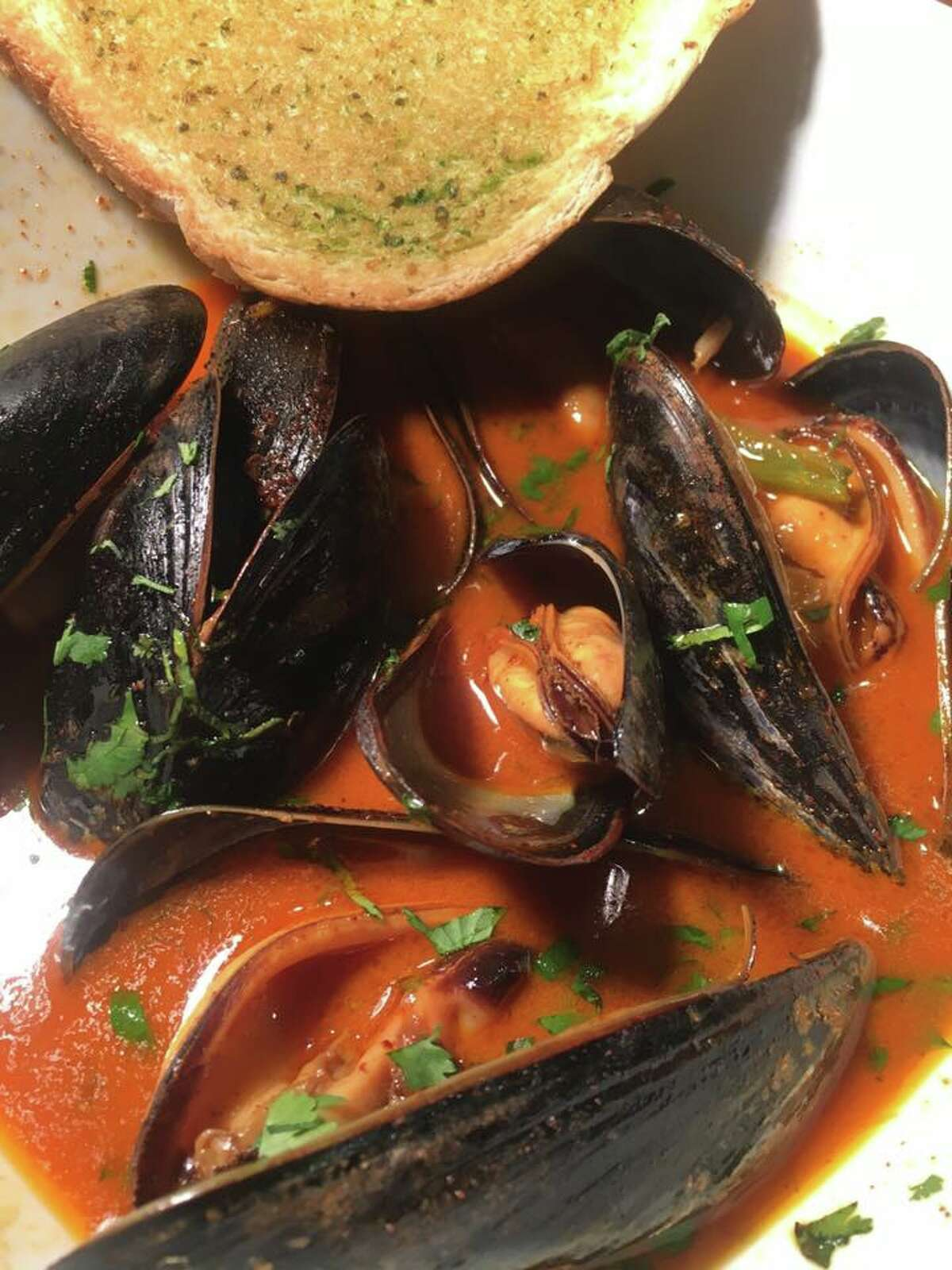 Mussels from Reef