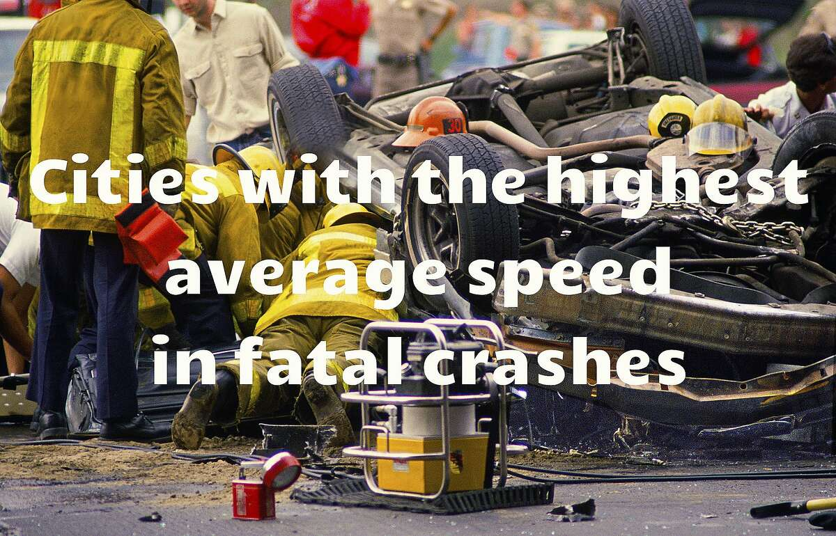 Fasten your seat belt snugly if you're motoring in these burgs! The following gallery shows the 20 American cities reporting the highest average speeds in accidents involving one or more fatalities.