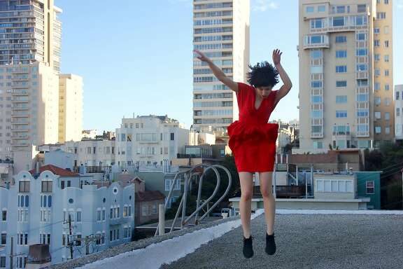 Ayana Yonesaka performs in the WAH!�Fest this weekend at Dance Mission Theater.