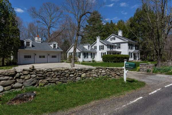 Tucked on the corner of Silvermine and Valley roads, a circa-1800 vintage charmer offers an opportunity to restore an antique New Canaan property to its former glory.