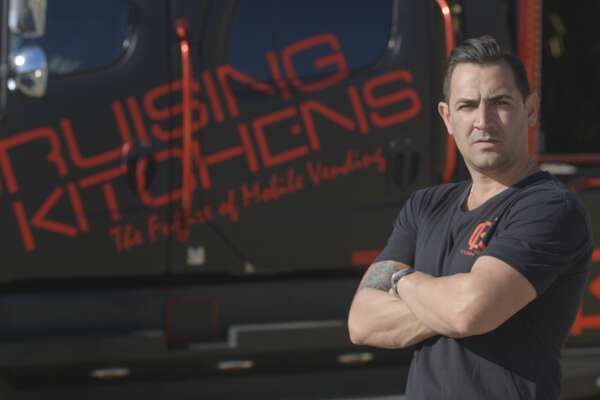 San Antonio's Cameron Davies of Cruising Kitchens will be featured on Discovery Channel's new 'Blue Collar Backers,' which has millionaire investors helping entrepreneurs turn their dreams into reality.