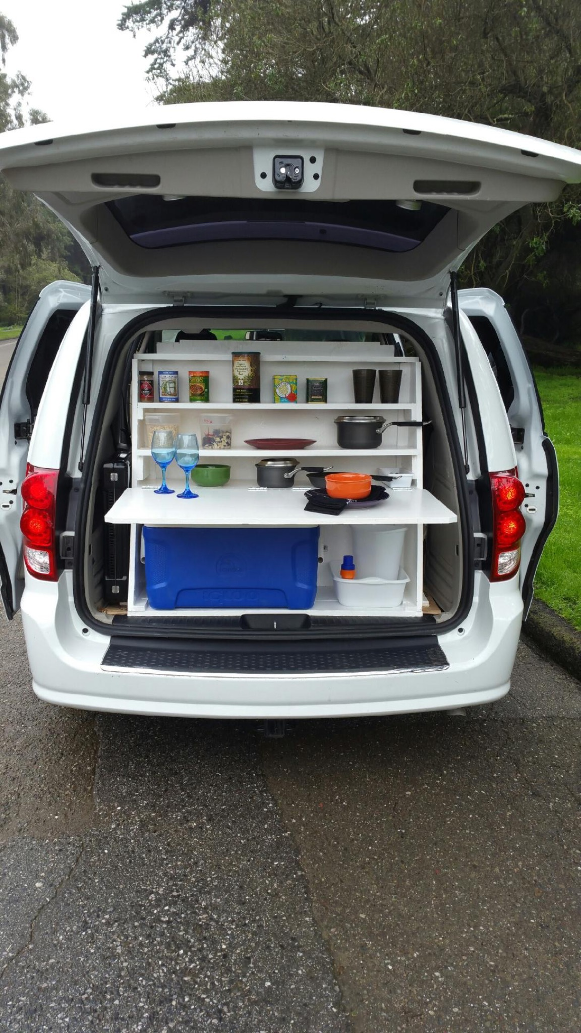 Rent this van to live at Google and 'eat Google food' for $30 a day
