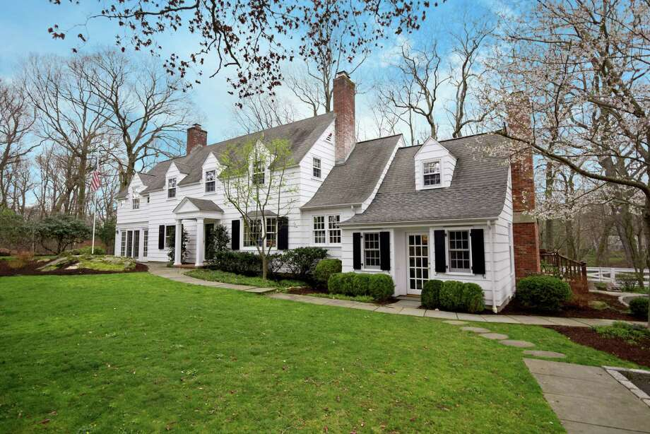 This 1920s Colonial is a completely updated 3,400-square-foot home with plenty of craftsman details. Photo: Darien News / Contributed Photos / Darien News
